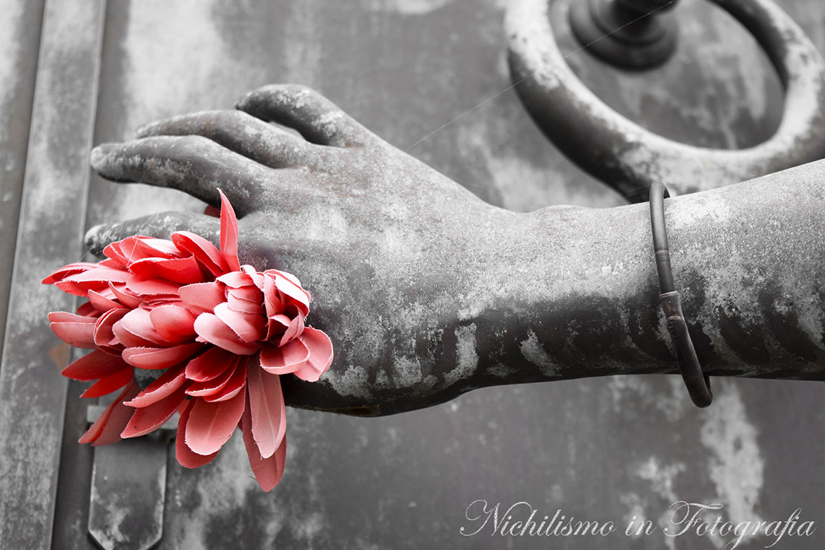 Red Light Flower (Tomb of Josie Arlington, Metairie Cemetery, New Orleans)