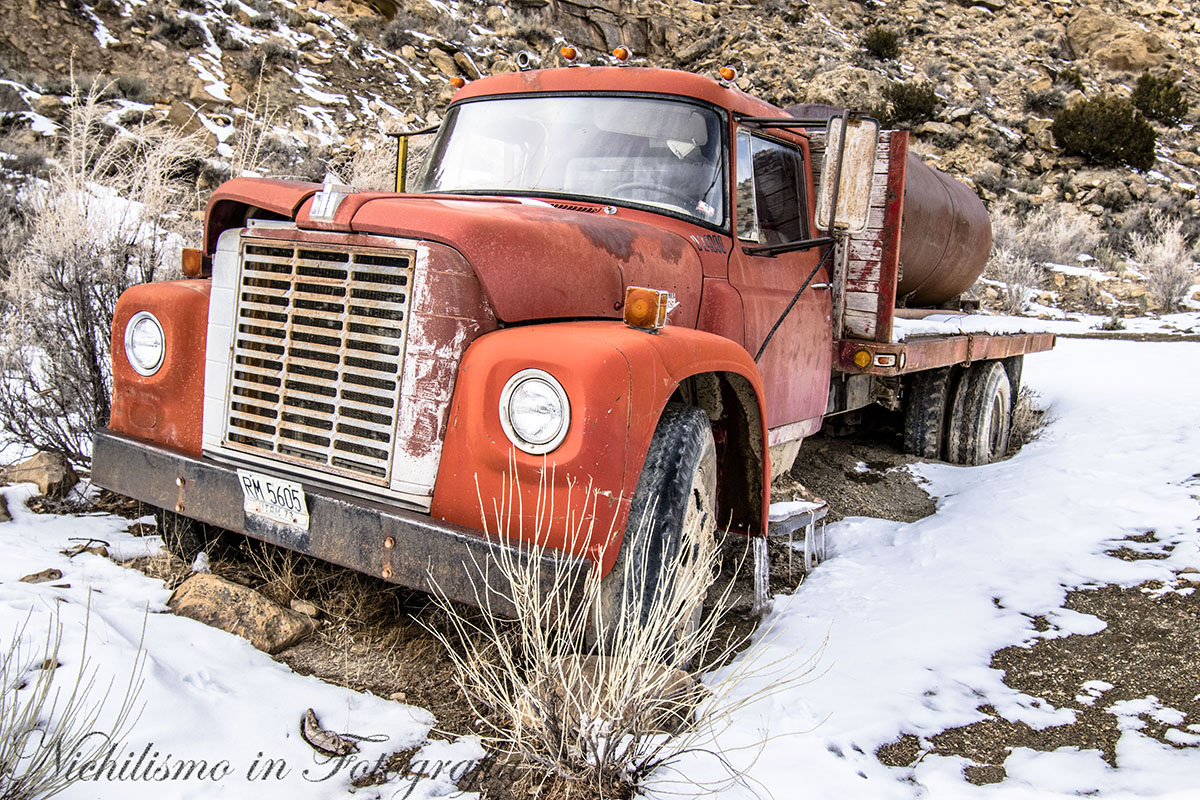 Abandoned Truck in 9-mile Canyon (Utah)