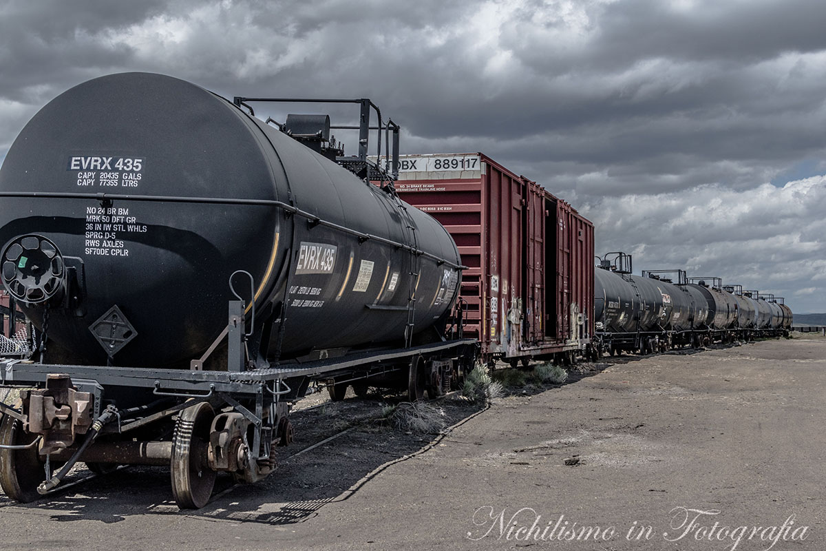 Train Kept a Rolling (Evanston, Wyoming)