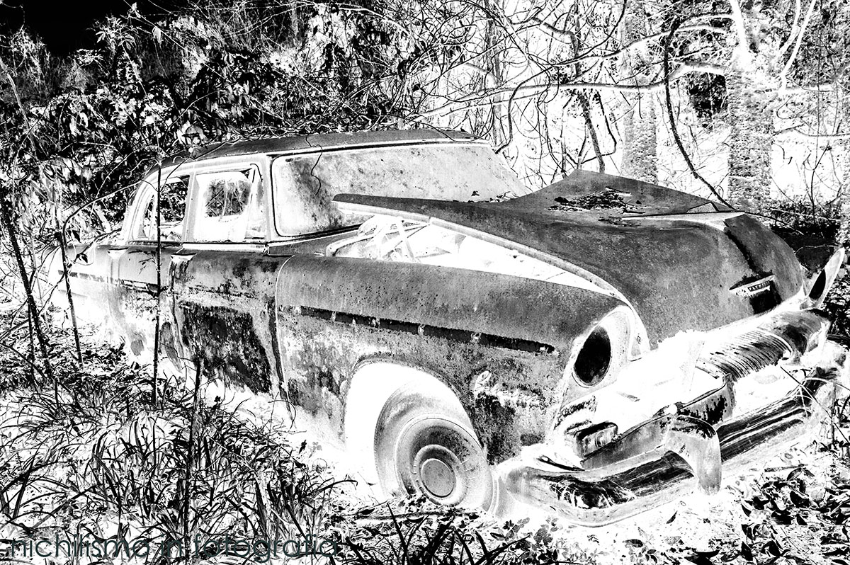 Abandoned Car (Infrared)