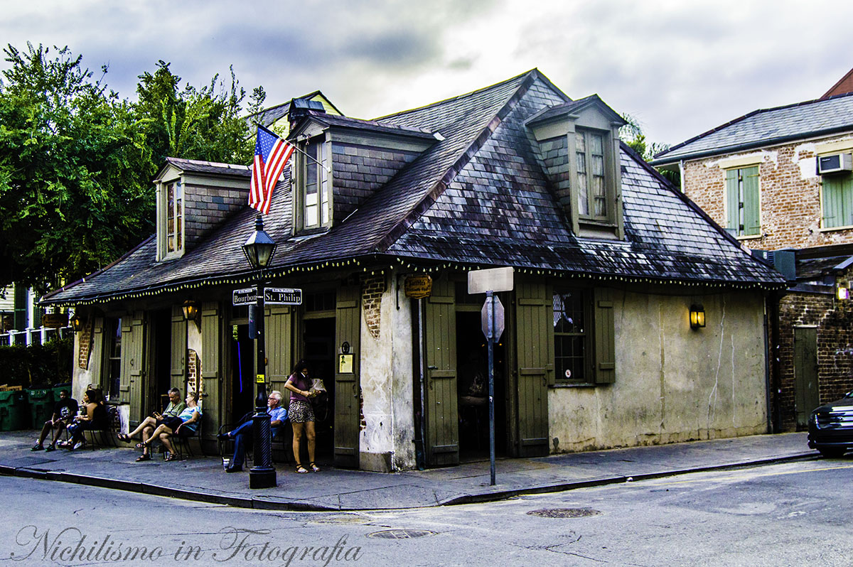 Lafitte's Blacksmith Shop (French Quarter, New Orleans)