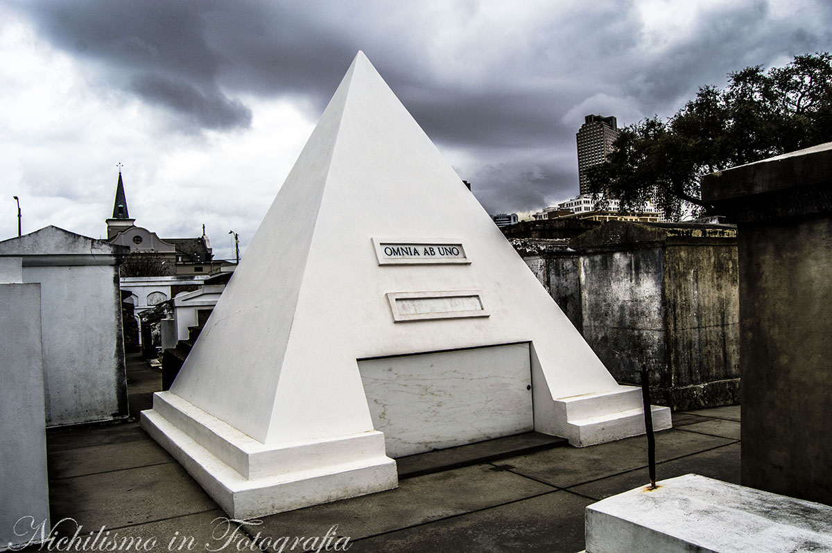 Tomb of Nicholas Cage (St. Louis Cemetery No. 1, New Orleans)